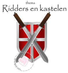Binnen thema Ridders en kastelen groep 1/2 biedt ik verschillende lestips en lesidee, lesmateriaal, hoeken, knutselen, kringactiviteiten taal en rekenen.