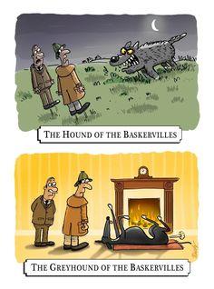 Greyhound of the Baskervilles
