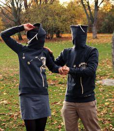 """warmer Turtleneck Sweater """"Pusteblume""""  von BedeckDich auf DaWanda.com"""