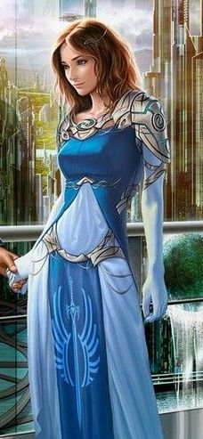 Nelle Aritas before the fall of Io Dungeons And Dragons Characters, Fantasy Characters, Female Characters, Female Character Inspiration, Fantasy Inspiration, Design Inspiration, Arte Sci Fi, Sci Fi Art, Fantasy Women