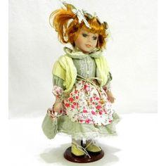 Porcelánová bábika Diana Diana, Teddy Bear, Teddybear