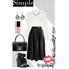 Untitled #14 by janis-yeoh on Polyvore featuring polyvore fashion style Frame Denim Chicwish Laurence Dacade Chanel Accessorize Topshop