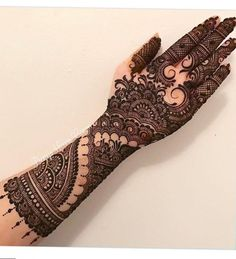 Explore latest Mehndi Designs images in 2019 on Happy Shappy. Mehendi design is also known as the heena design or henna patterns worldwide. We are here with the best mehndi designs images from worldwide. Dulhan Mehndi Designs, Mehandi Designs, Mehndi Design Pictures, Tattoo Designs, Henna Mehndi, Mehendi, Mehndi Images, Heena Design, Tattoo Ideas