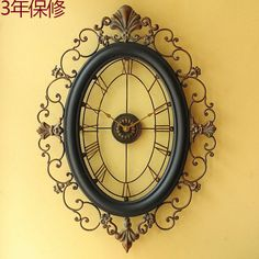 Cheap clock outside, Buy Quality clock mechanism and hands directly from China clock decal Suppliers: American retro to do the old wrought iron double-sided wall clock large / glass clock face clock muteUSD 157.40/pieceCon