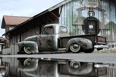 Rat Rod - We'd love to have one of these in our garage. #HotRod #RatRod #Custom