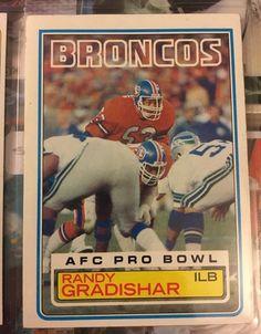 1983 Topps Randy Gradishar 262 Denver Broncos VG Condition Combined s H | eBay