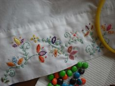 Lovely!  I'd sleep like a dream with these pillowcases