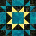 amish star quilt pattern