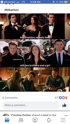 OMG so true how did I not notice that Vampire Diaries Wallpaper, Vampire Diaries Seasons, Vampire Diaries Quotes, Vampire Diaries Cast, Vampire Diaries The Originals, Cw Series, Series Movies, Movies And Tv Shows, Damon Salvatore Vampire Diaries