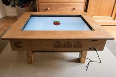 Picture of Touch Screen Coffee Table DIY With 32