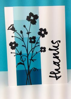 Bella Bouquet: Memory Box, paint chip sample, by beesmom - Cards and Paper Crafts at Splitcoaststampers Paint Chip Cards, Paint Sample Cards, Paint Samples, Memory Box Cards, Memory Box Dies, Scrapbook Cards, Scrapbooking, Chip Ideas, Poppy Cards