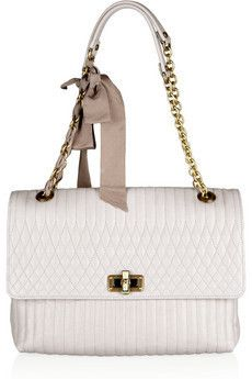 ec1a4bab0659 Lanvin - The Happy large quilted leather shoulder bag