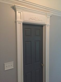 Crown Molding, Crown Moulding, Window Trim, Woodwork, Panels, Moulding,  Molding
