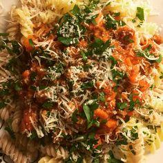 Glutenfree pasta Bolonese Gluten Free Recipes, Glutenfree, Pasta, Cooking, Food, Kitchen, Gluten Free, Essen, Sin Gluten