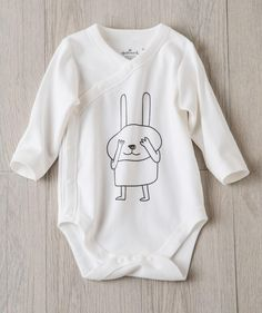 Baby Unisex Peek-a-boo Bunny Bodysuit | exclusively from Hallmark Baby.com