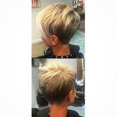 Short Straight Hair #PixieHairstyles