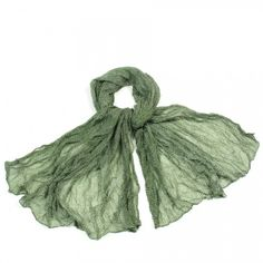 http://www.artfire.com/ext/shop/studio/bohemiantouch/1/1/10311//  Green and White Little Star Print Soft Touch Women Shawl Scarf, scarf is a great addition to your collection of fashion accessories. Perfect for all year round.