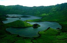 Azores Corvo Corvo Island