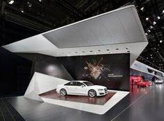 Audi - Auto China 2014 | Schmidhuber Exhibition Stall, Exhibition Booth Design, Exhibition Display, Stage Design, Event Design, Audi Autos, Peugeot, Temporary Structures, Showroom Design