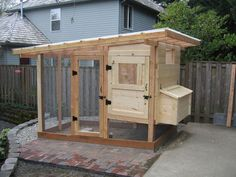 Perfect Chicken Coop for when I can get Will to build it! Ready for some fresh eggs!