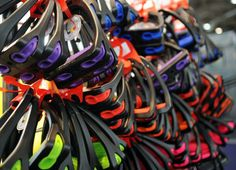 Rainbow Bright.  Stirrup in EVERY color.  Photos & Video | The Chronicle of the Horse | World Cup 2014