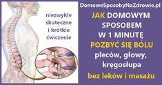 JAK SIĘ POZBYĆ BÓLU PLECÓW W 60 SEKUND BEZ LEKÓW I BEZ MASAŻU – DomoweSposobyNaZdrowie.pl