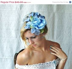 New Year 14 Day 14 Off 1950's Beautiful Blue by MovieStarMoon, $38.70