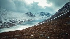 [OC] A snowy Loch Avon Scotland. Taken on my phone on Thursday. [53122988] #reddit