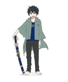 Ao No Exorcist, Blue Exorcist Anime, Rin Okumura, Hot Anime Boy, Anime Guys, Vocaloid, Otaku, Super Manga, A Silent Voice