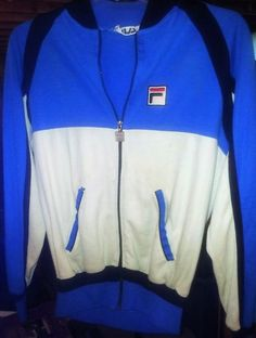 0e79a090d0a (eBay link) Original Bjorn Borg Fila Warm Up Jacket  fashion  clothing