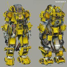 Fallout4: Construction Power Armor
