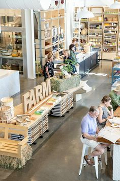 Retail Therapy: {SHED, Healdsburg Apartment 34 Retail Store Design, Retail Shop, Food Retail, Hotel Restaurant, Restaurant Design, Visual Merchandising, Farm Shop, Farm Cafe, Retail Interior