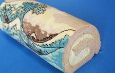 Arte en Los Cake Rolls