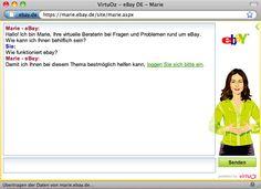 Marie von Ebay - Die virtuelle Kundenberaterin auf dem beliebten Online-Marktplatz