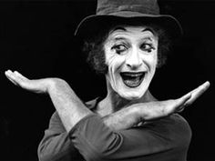 French mime artist Marcel Marceau on stage at Sadler's Wells Theatre in London. Get premium, high resolution news photos at Getty Images Marcel, Mime Marceau, Art Of Silence, Mime Artist, August Strindberg, Clown Faces, Dramatic Arts, Evil Clowns, The Magicians