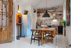 Tiny Swedish Apartment   design attractor   Bloglovin'