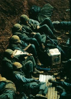 Marines at Khe Sanh during the siege