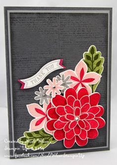 Nicole Wilson Independent Stampin' Up!® Demonstrator: Search results for flower patch Card Making Inspiration, Making Ideas, Card Tags, Gift Cards, Flower Patch, Scrapbook Cards, Scrapbooking, Cards For Friends, Winter Cards