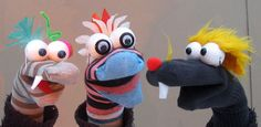 Sock Puppet Making Workshops for Schools