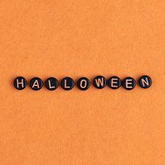 Halloween Images, Happy Halloween, Halloween Beads, Orange Wallpaper, Alphabet Beads, Typography Alphabet, Orange Background, Design Crafts, Royalty Free Images