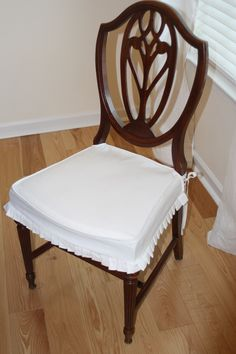 Dining Chair Cushions With Skirt Home Design Mannahatta inside proportions 2848 X 4272 Pleated Dining Chair Seat Covers - A dining room chair cover can be Dining Chair Seat Covers, Dining Chair Slipcovers, Dining Room Chairs, Armchair Covers, House Design, Furniture, Studio, Home Decor, Diy