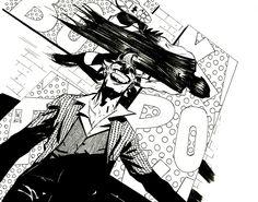 Batman and Joker by Werther Dell'Edera