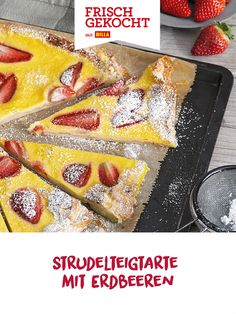 French Toast, Breakfast, Cake, Food, Strawberry Tarts, Mother's Day, Strawberries, Easy Meals, Kochen