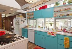Brett and Rachel's Creative & Colorful Lafayette Mid-Century Modern — House Call
