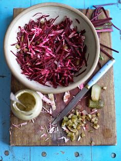 Beetroot and Horseradish Coleslaw Jamie Magazine