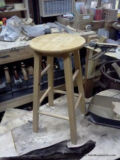 Shop Stool Build-Off