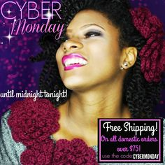 FREE SHIPPING till midnight! Here are the deets! #FINGERCOMBER #CYBERMONDAY