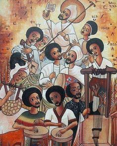 African Life, African Culture, African History, Rastafari Art, History Of Ethiopia, Ethiopian People, Heaven Art, Cross Art, Africa Art