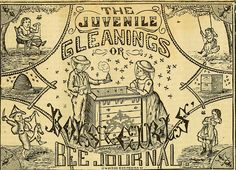 """""""Gleanings in bee culture"""" (1874)"""