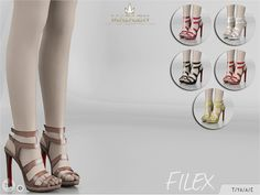 The Sims Resource: Madlen Filex Shoes by MJ95 • Sims 4 Downloads